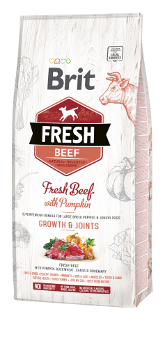 Brit® Fresh Beef - Growth & Joints